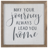 Always Lead You Home Wood Decor