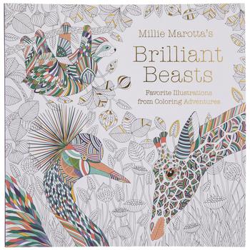 Brilliant Beasts Coloring Book