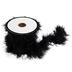 Black Feather Boa Trim - 1 1/2