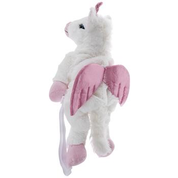 White Unicorn Plush Backpack