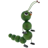 Green Metal Caterpillar