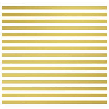 """Striped Foil Scrapbook Paper - 12"""" x 12"""""""