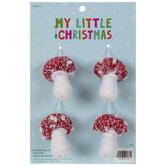 Mini Mushroom Ornaments