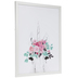 Unicorn With Floral Crown Wood Wall Decor