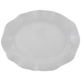 White Wavy Platter
