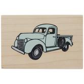 Vintage Truck Rubber Stamp