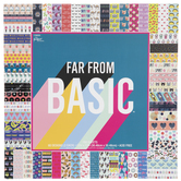 "Far From Basic Paper Pack - 12"" x 12"""