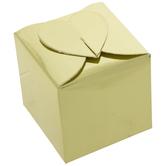 Gold Heart Top Favor Boxes