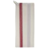 Red Striped Vintage Kitchen Towel