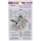 Bird Frame Clear Stamps