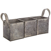 Divided Metal Caddy
