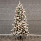 Berkshire Snowy Spruce Pre-Lit Christmas Tree - 9'