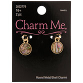 Round Shell Charms