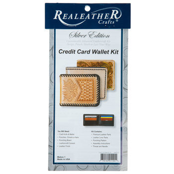 Leather Credit Card Wallet Kit