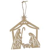 Nativity Wood Ornaments
