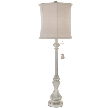 Cream Buffet Lamp