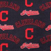 MLB Cleveland Indians Fleece Fabric