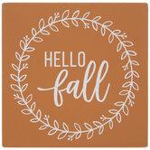 Hello Fall Wood Decor