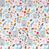 Bee Happy Cotton Calico Fabric