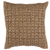 Raffia Pillow Cover