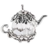 Crystal Teapot Pendant