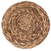 Round Hyacinth Woven Placemat