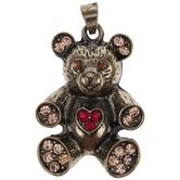 Teddy Bear With Heart Pendant