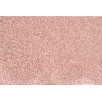 """Rose Gold Faux Leather Ribbon - 8"""""""