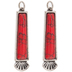 Red Turquoise Pendants