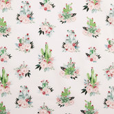Cactus Bouquet Cotton Fabric