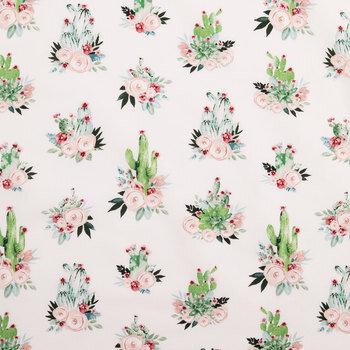 Cactus Bouquet Cotton Fabric