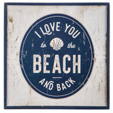 To The Beach Wood Wall Decor