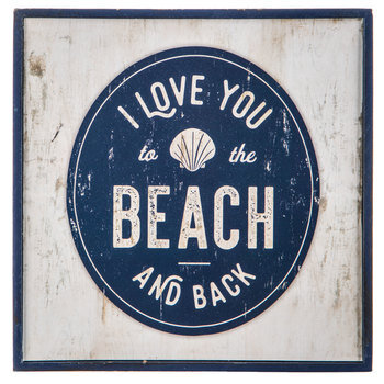 To The Beach Wood Wall Decor