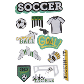 Soccer 3D Stickers