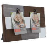Plank Wood Clip Collage Frame