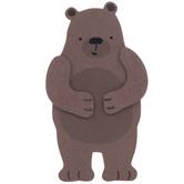 Bear Painted Wood Shape