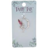 Fairy & Moon Rhinestone Pendant