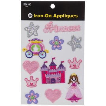 Princess Iron-On Appliques
