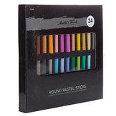 Master's Touch Round Pastels - 24 Piece Set