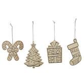 Christmas Icons Ornaments