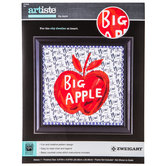 Big Apple Counted Cross Stitch Kit