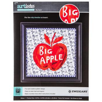 Big Apple Counted Cross Stitch Kit