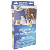 Flat & Gloss Acrylic Finishing Paint & Tools
