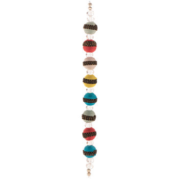 Cord Wrapped Bead Strand