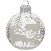 Reindeer & Trees Ball Ornaments