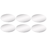 Oval Hand Mirror Resin Mold Inserts