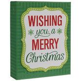 Quatrefoil Shield Christmas Cards