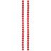 Red Round Imitation Howlite Bead Strands - 8mm