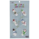 Snowman Mini Ornaments