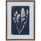Stems Framed Wall Decor